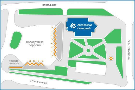 Екатеринбург схема железнодорожного вокзала